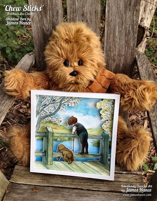Chew Sticks (Wookie the Chew Shadow Box) by James Hance