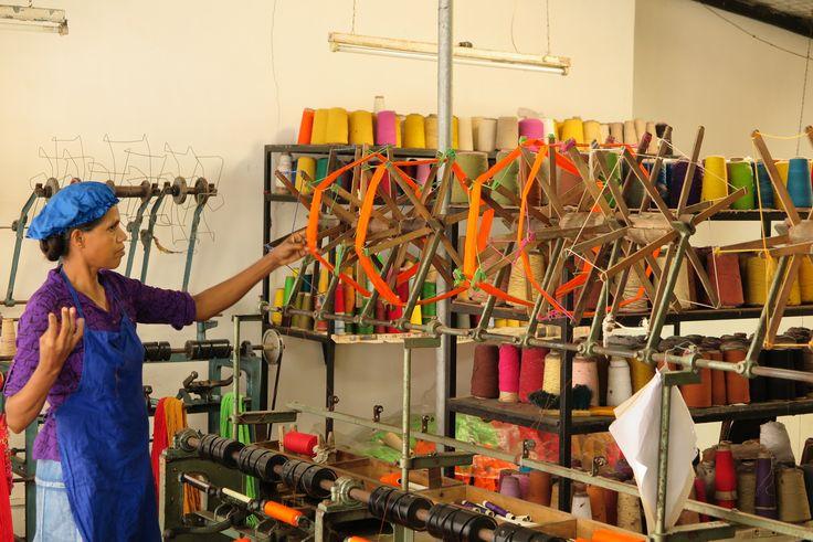 Escale dans un atelier de tissage traditionnel - Commerce équitable