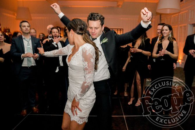 The Most Stunning Photos From Lea Micheles Wedding To Zandy