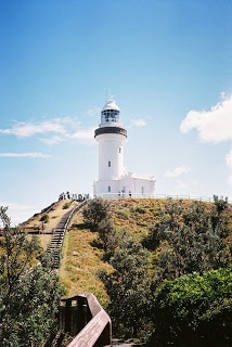 Byron Bay Lighthouse, on Cape Byron, Australia's most easterly point (on the mainland)