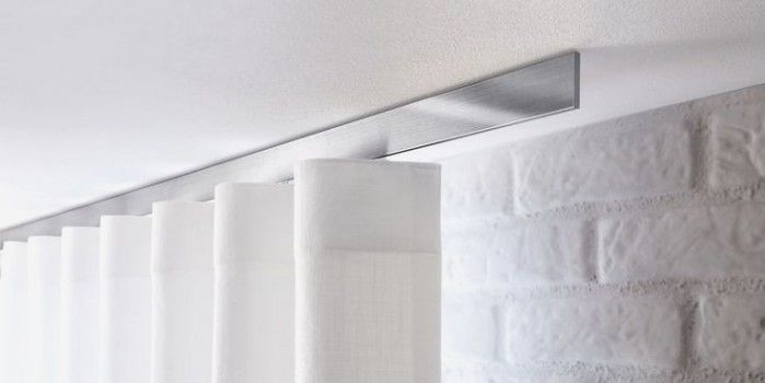 Modern Ceiling Mount Curtain Track Ceiling Mounted Curtains