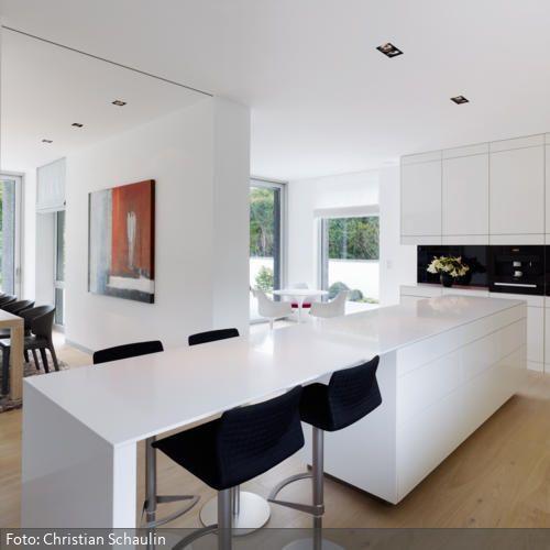 9 best Luxusvilla im Bauhaus-Stil images on Pinterest Bauhaus - wohnzimmer mit offener küche