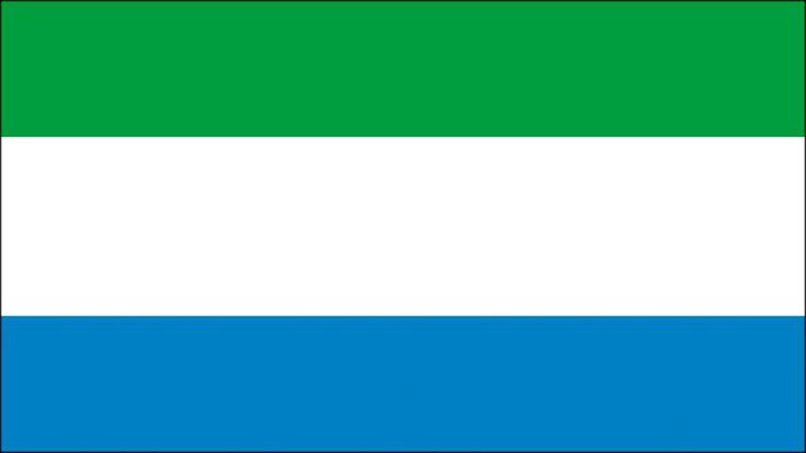 Bandera de Sierra Leona