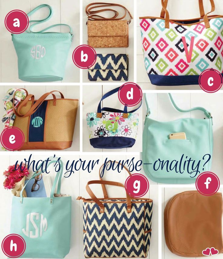 What's your Thirty-One purse-onality? Spring/Summer 2017 www.mythirtyone.com/carriewolke