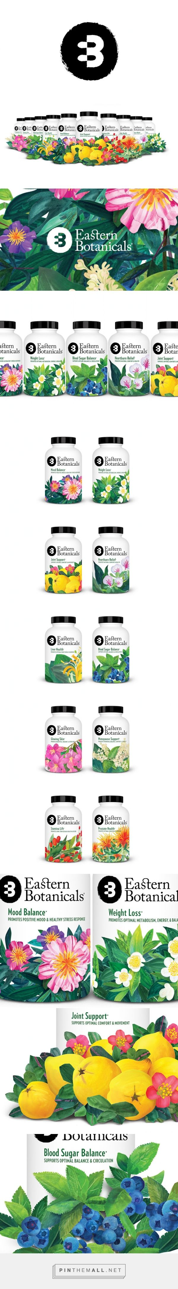 Eastern Botanicals Herbal #Supplements #packaging by Rice Creative - http://www.packagingoftheworld.com/2015/01/eastern-botanicals.html