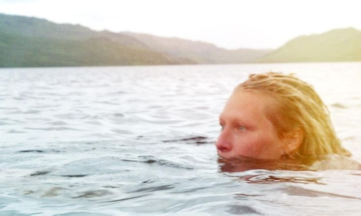 In love with winter swimming: 'I like to feel the elements on my skin. It's nourishing'