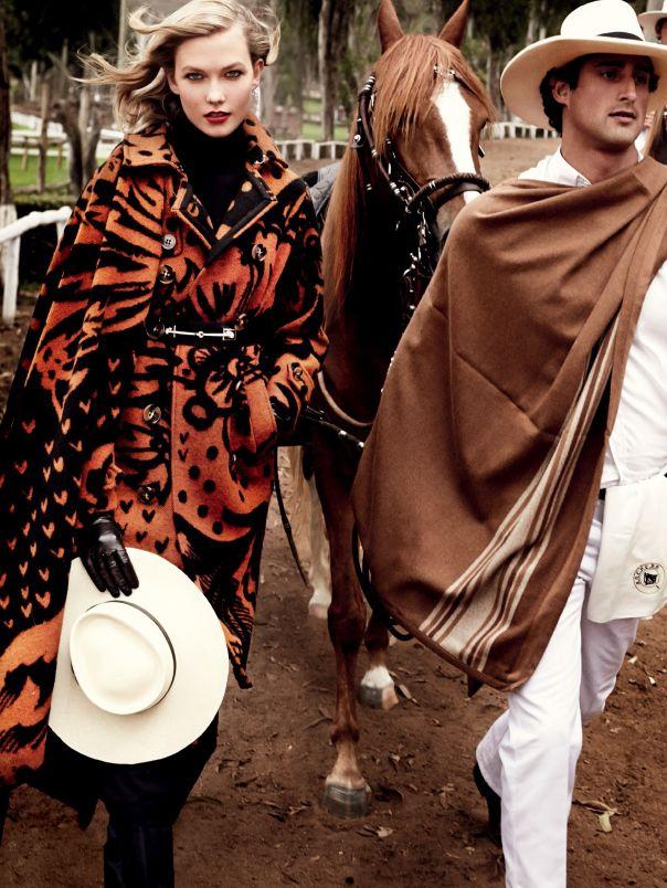   Beautiful Karlie Kloss for Vogue US September 2014 by Mario Testino