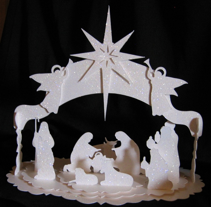Link no longer works but keep for  idea & search # Nativity # Silhouette