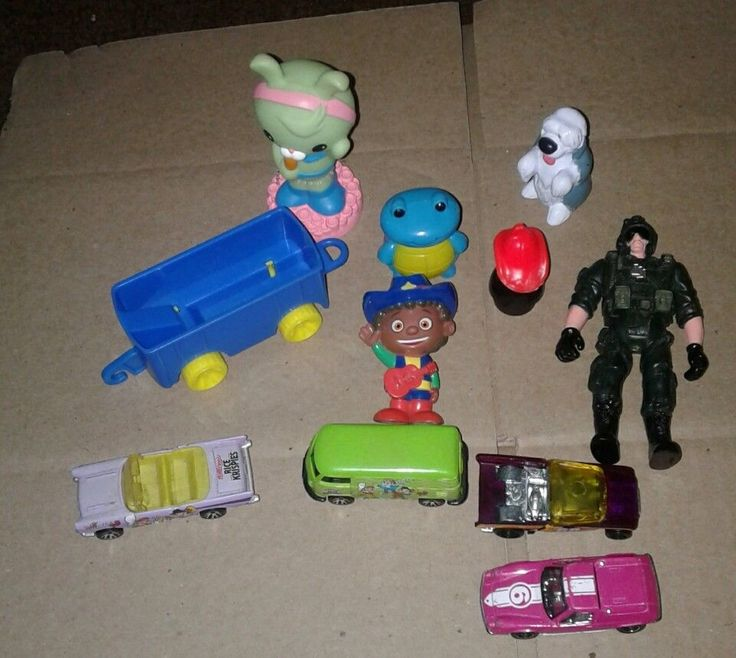 Toy Lot, 1957 Chevy Diecast, Rice Crispy Del. Van, Military figure, & #Chevrolet