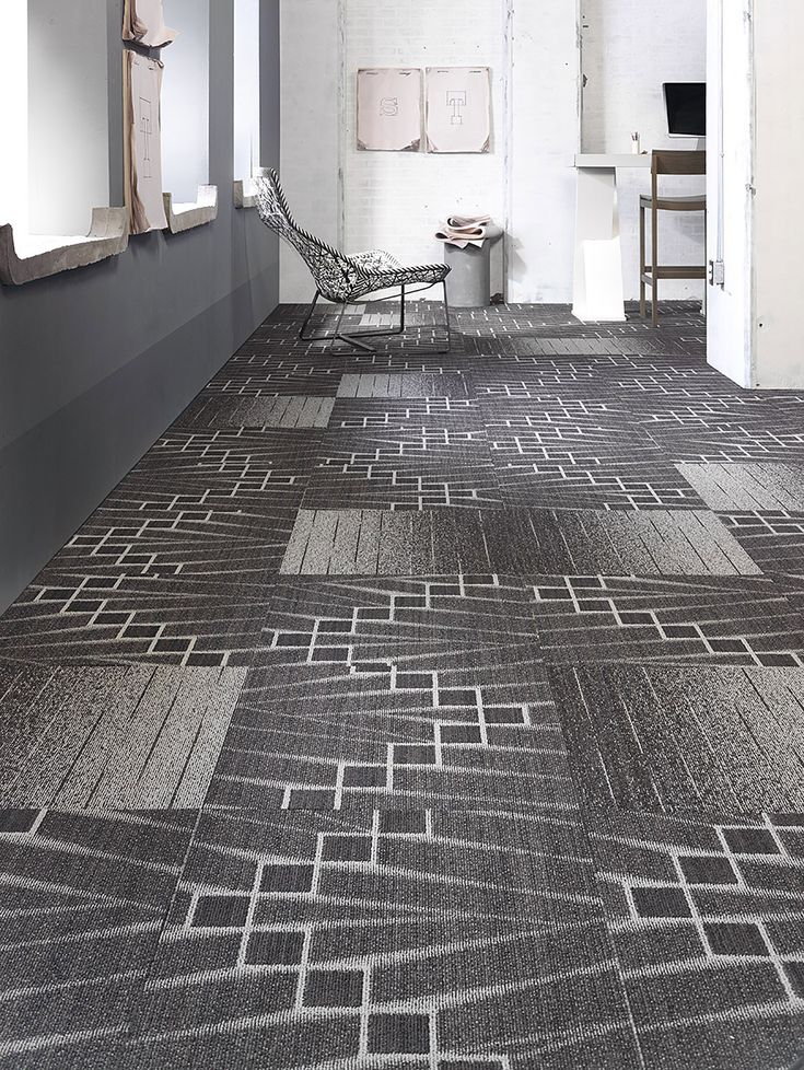 Absolutely in love with Mohawks carpet tile designs. How much fun is this  pattern in