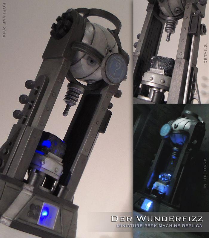 Der Wunderfizz - Miniature COD Zombies Replica by faustdavenport.deviantart.com on @deviantART