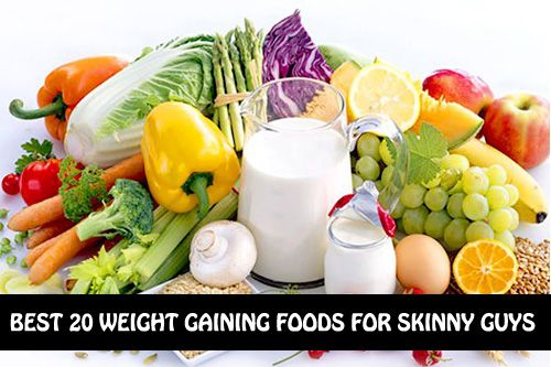 Top 20 Weight Gaining Foods For Skinny Guys :http://www.worthofread.com/top-20-weight-gaining-foods-for-skinny-guys/