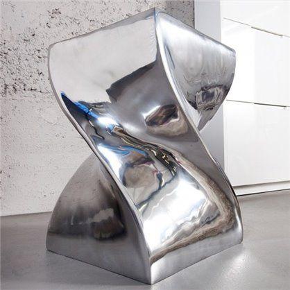 designerski stołek, może służyć jako podest do salonu, sypialni, przedpokoju