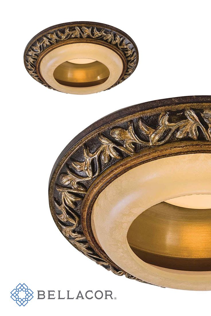 How to replace recessed lighting trim - Minka Lavery Florence Patina Recessed Lighting Trim