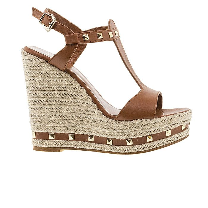 850N05-COGNAC LEATHER www.mourtzi.com #wedges#platforms #mourtzi #greekdesigners #taba