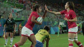 Après la première journée du tournoi olympique féminin de rugby à sept, Équipe Canada s'est mise en bonne position pour...