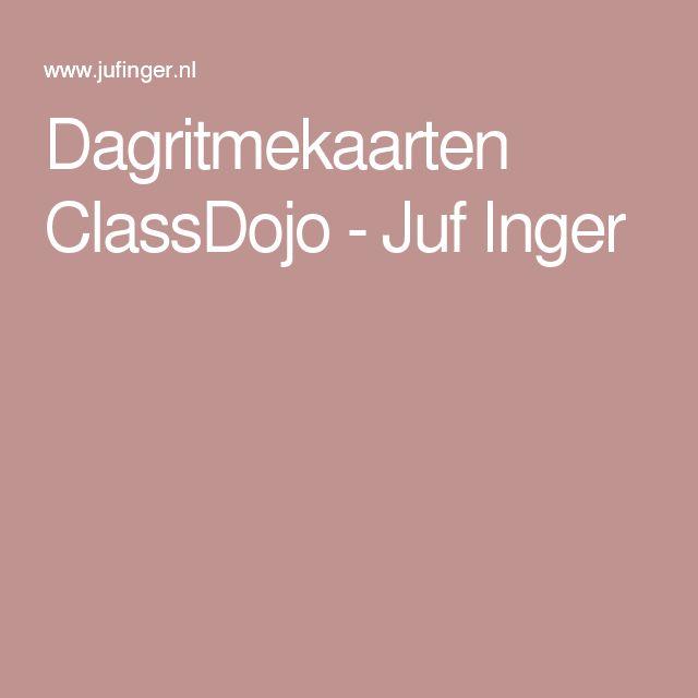 Dagritmekaarten ClassDojo - Juf Inger