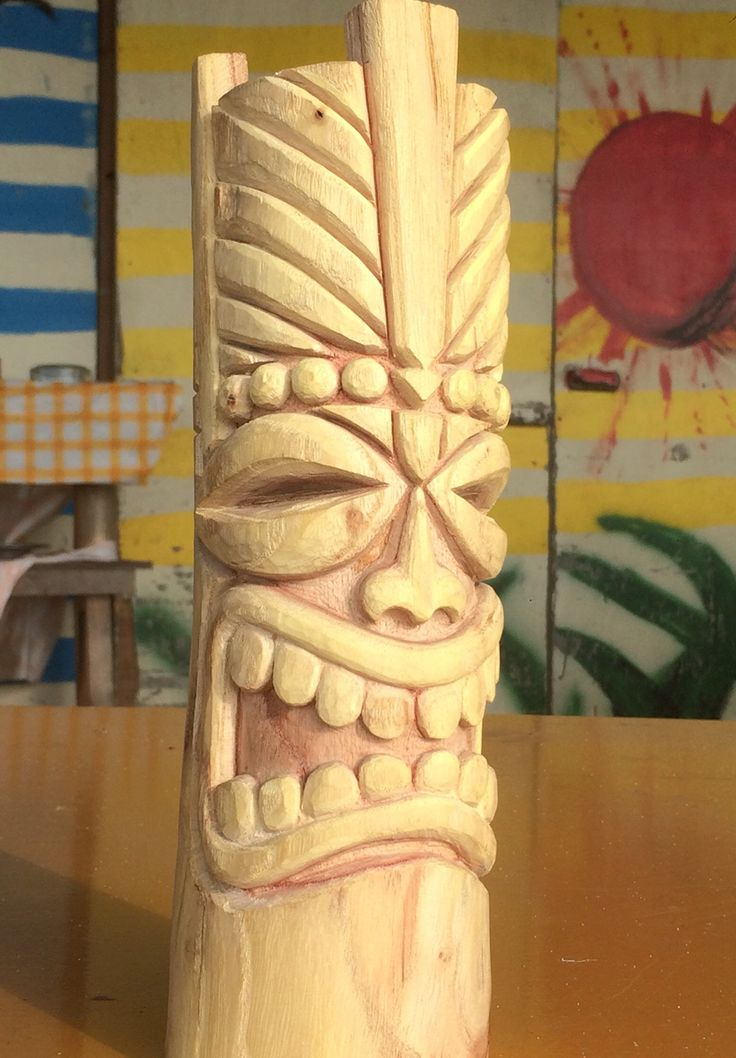 Best tiki faces totems images on pinterest