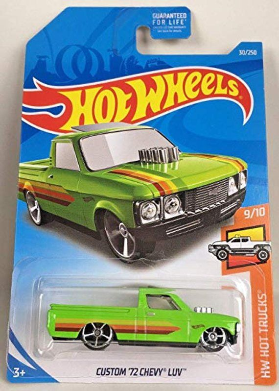 Hot Wheels Custom 72 Chevy Luv 2019 Hw Hot Trucks Series Chevy