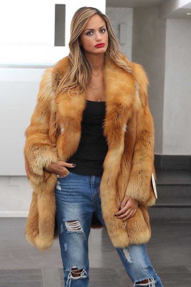 39 best Elsafur red fox images on Pinterest | Red fox, Fur coats ...