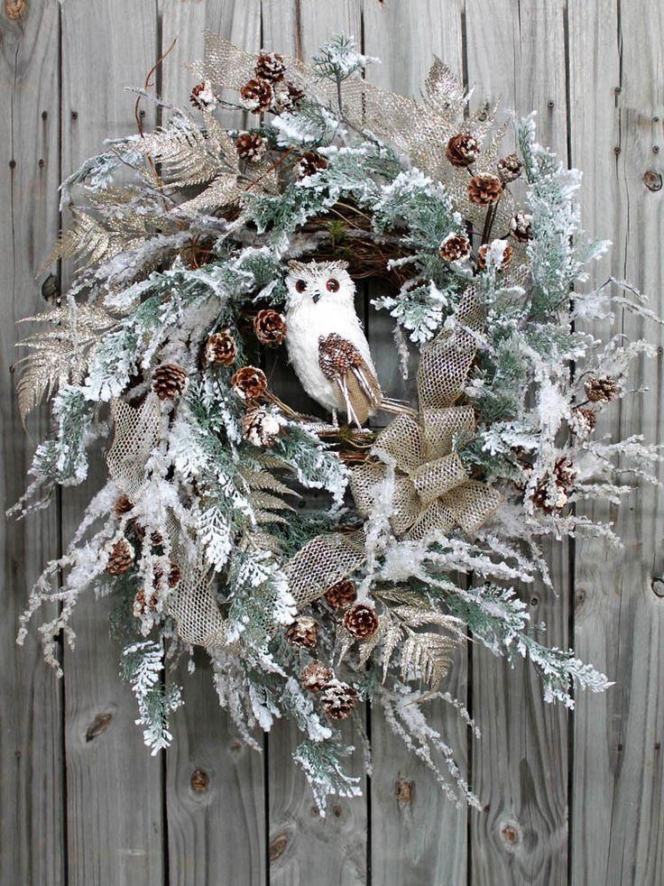 805 best owl wreaths images on pinterest owl