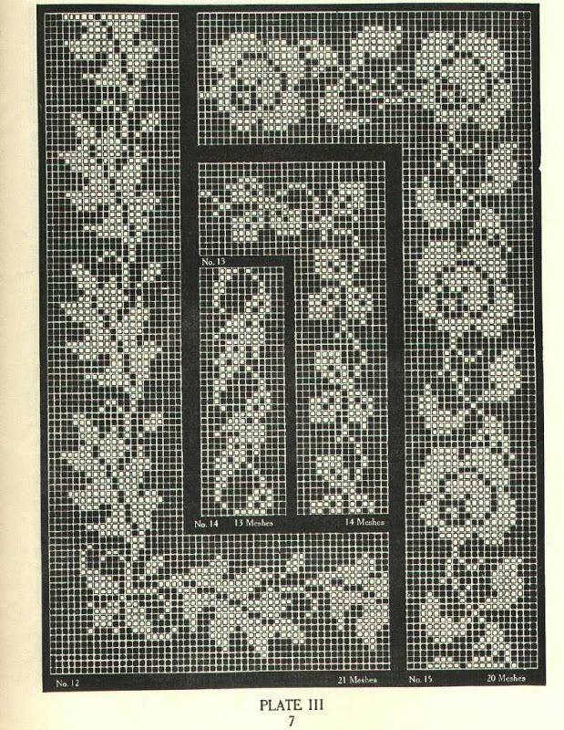 Filet Crochet vol. 1