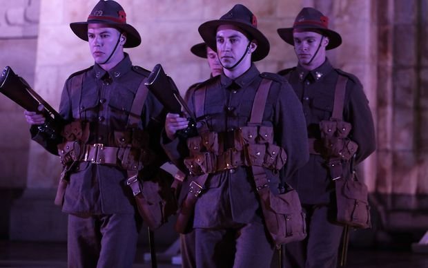 anzac day soldiers at gallipoli new zealand