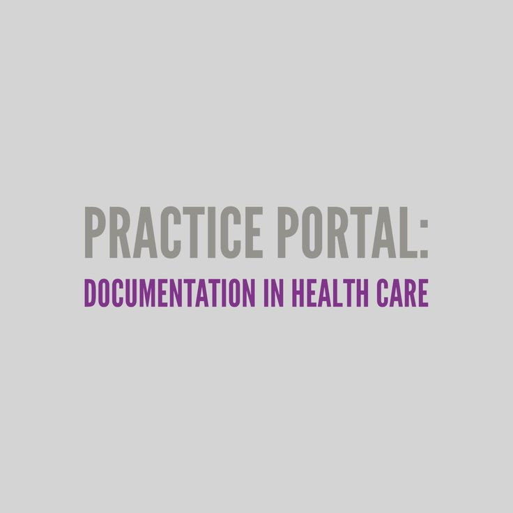 Documentation in Health Care: Curated and peer reviewed content on professional issues. #healthcare #medicalSLP #billing