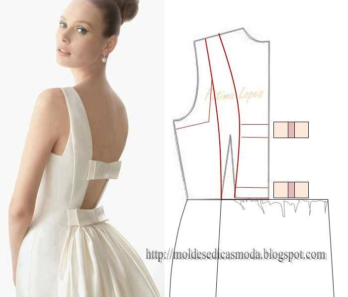 dress opened back sew it your self