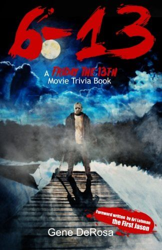 6-13 A Friday the 13th Movie Trivia Book @ niftywarehouse.com #NiftyWarehouse #Horror #Movies #FridayThe13th #Jason