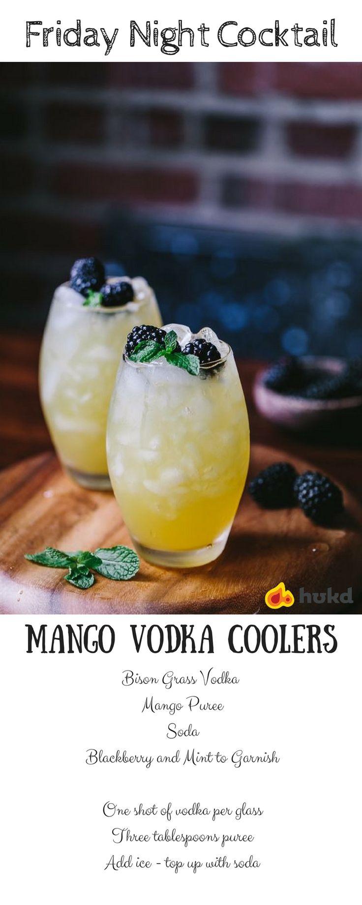 Mango Vodka Coolers Recipe