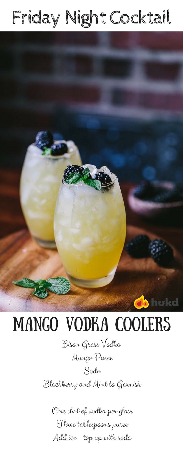 Mango Vodka Coolers Recipe