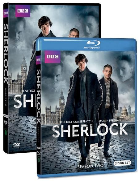 Sir Arthur Conan Doyle's famous detective is back on the case with Sherlock: Season Two arriving on DVD and Blu-ray on May 22nd from BBC Home Entertainment.: Sherlock Seasons, Rupert Graves, Benedictcumberbatch, Sherlock Bbc, Martin Freeman, Martinfreeman, Sherlock Holmes, Benedict Cumberbatch, Christmas Lists