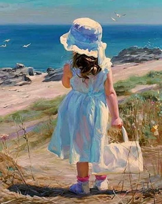Impressionist Vladimir's Volegov vibrant color palette and bold strokes coalesce to create evocative images that possess a timeless sensibility.