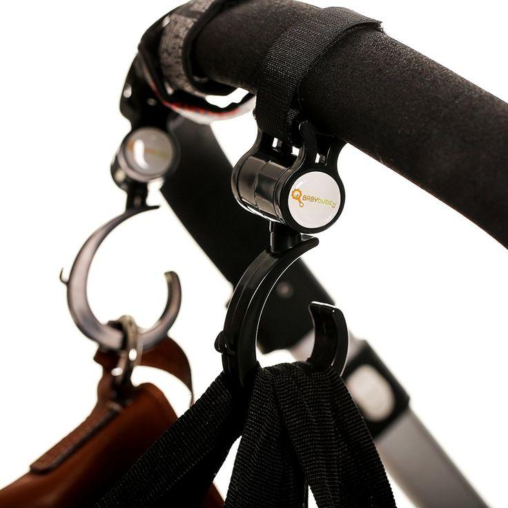 Stroller Hook 2 Pack of Multi Purpose Hooks