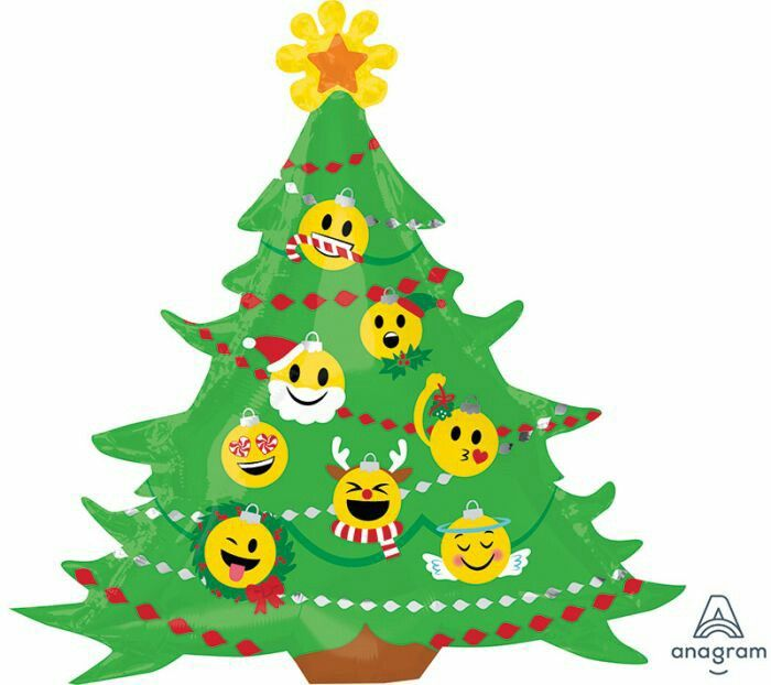 Pin By Raul Ibarra On Navidad Emoji Christmas Emoji Christmas Tree Christmas Party Supplies