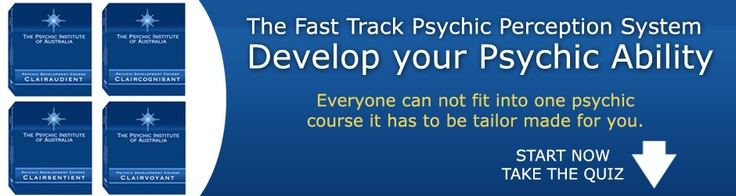 Everyone cannot fit into one psychic Course. It has to be tailor made for you. The Psychic Institute of Australia is the only Institute on the World that tailor makes your Course. No wonder our students have psychic perceptions FAST