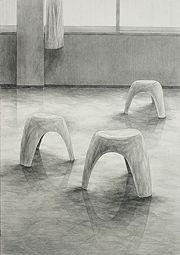 多摩美術大学環境デザイン学科合格デッサン作品再現