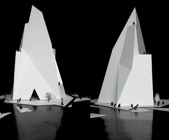 'ICEBERG' BY JON KLASSEN - http://thefoxisblack.com/2012/01/13/iceberg-by-john-klassen/