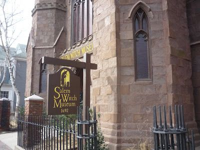 20 classic New England family #travel attractions, including the Salem Witch Museum pictured here. http://newenglandtravelnews.blogspot.com/2012/05/30-classic-new-england-family-travel.html