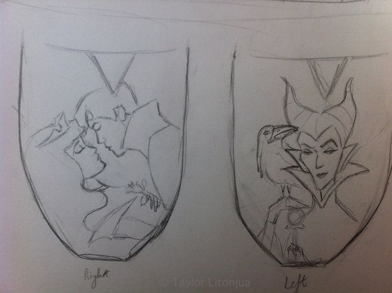 Sleeping Beauty sketch for Toms- I want these!!
