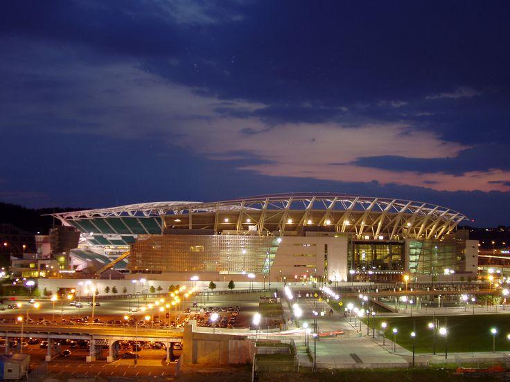 Paul Brown Stadium, Home of NFL Cincinnati Bengals
