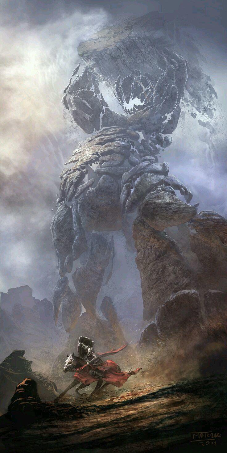 Character Art Season 2:Warforged/Golems