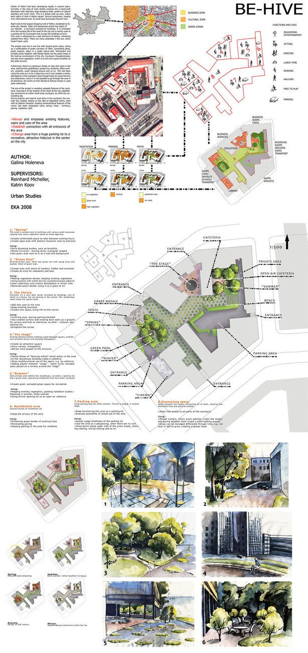Landscape Project by ruttianIncludes a nice space for the BEES!!! | Architecture | Landscape