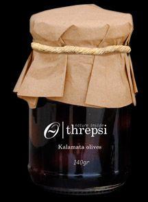 Threpsi - Natural Kalamata Olives