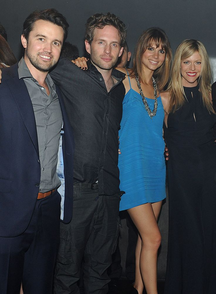 Rob McElhenney, Glenn Howerton, Jill Latiano, and Kaitin Olson.