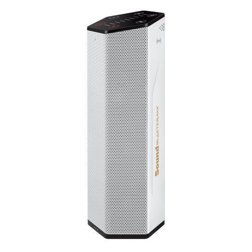 Creative Labs Sound Blaster AXX 200 Intelligent Wireless Sound System – A portable wireless speaker with Bluetooth, NFC and microphone  http://www.discountbazaaronline.com/2016/01/28/creative-labs-sound-blaster-axx-200-intelligent-wireless-sound-system-a-portable-wireless-speaker-with-bluetooth-nfc-and-microphone/