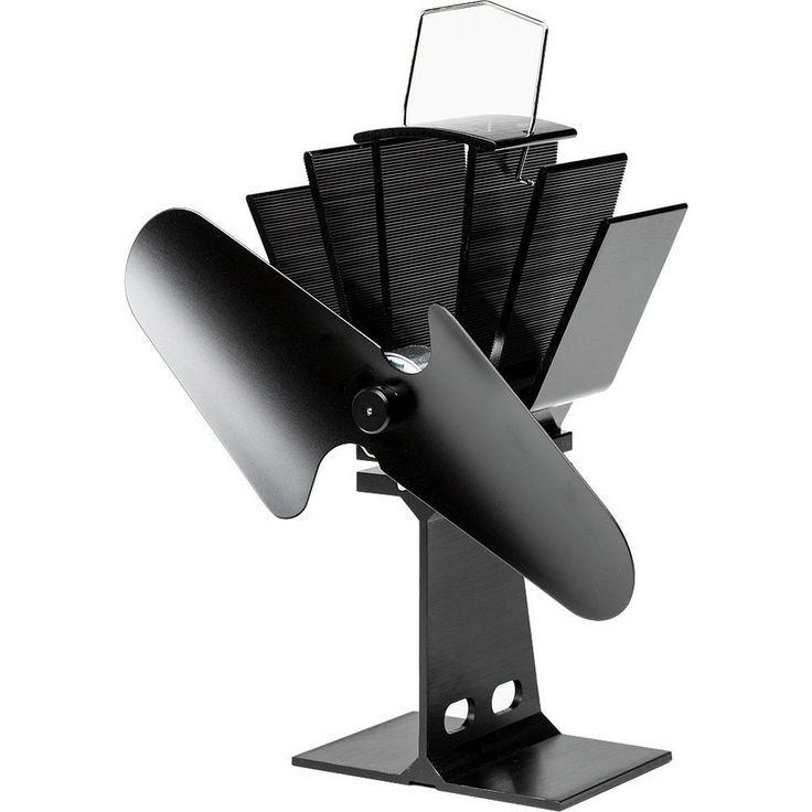 Small Heat-Powered Stove Fan, Non-Electric Hearth Fan | Lehman's