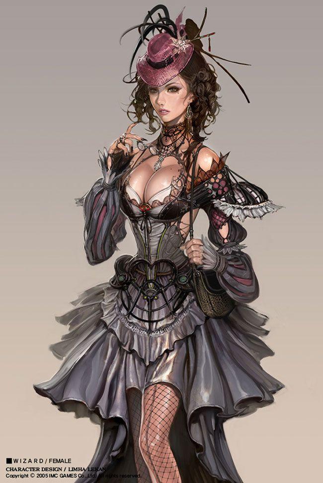 Female Wizard