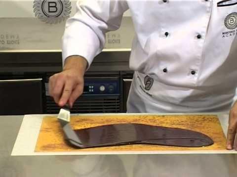 decorazioni di cioccolato Gianluca Aresu - YouTube